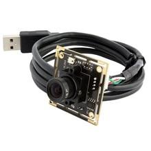 720P 1.0 megapixel HD OV9712 CMOS H.264 usb board camera with MIC audio microphone