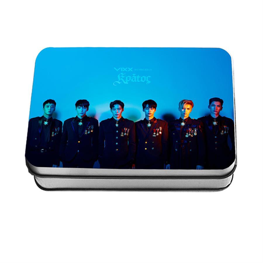 Kpop VIXX Mini Album Kratos Polaroid Lomo Photo Card Fans Collective Photocard 30pcs/set