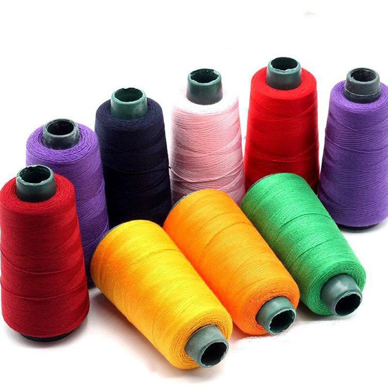 203 полиэстер три толстые швейные нитки/джинсы нитки ручная строчка холст грубой ткани куркума джинсовая нить швейная машина p