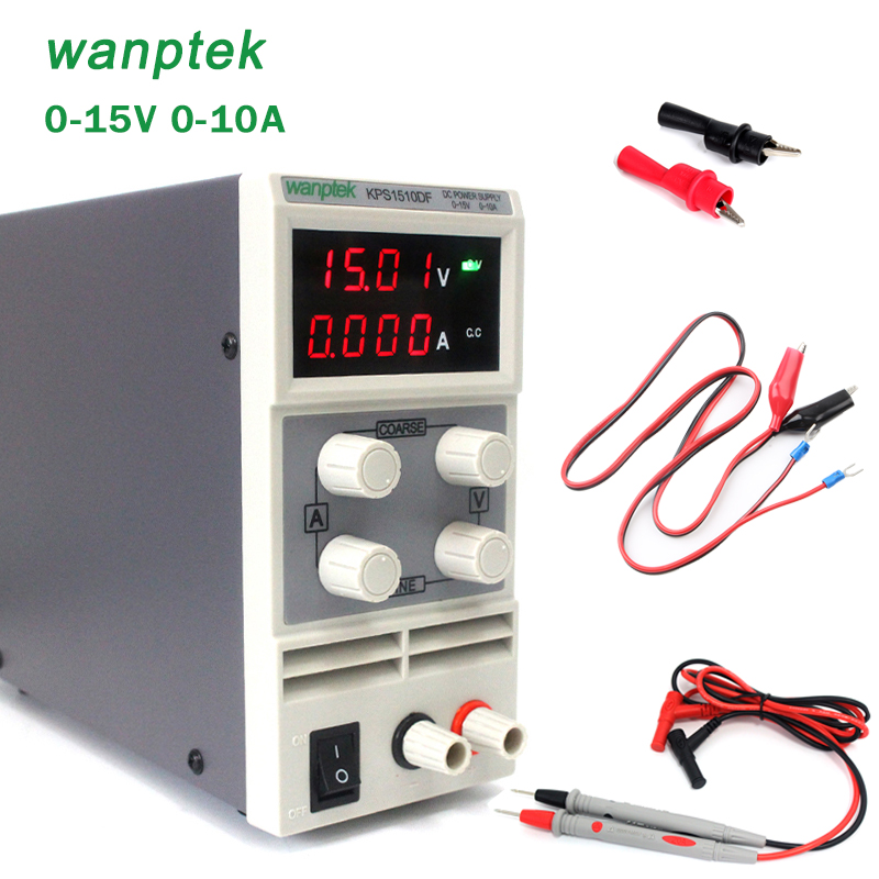 New Arrival Mini Adjustable DC power supply,0~15V 0~10A ,110V / 230V, Switching Power supply, Switching Regulated power rps3020d 2 digital dc power adjustable power 30v 20a power supply linear power notebook maintenance