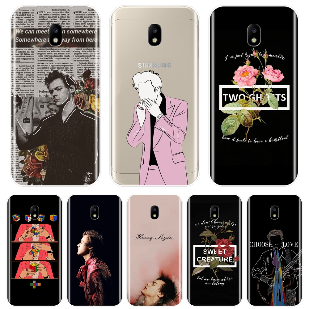 Fashion Harry Styles Phone Case Silicone For Samsung Galaxy J2 J5 J7 Prime J3 J5 J7 2015 2016 2017 J4 J6 J8 Plus Soft Back Cover image