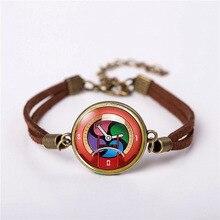 JP Yokai Yo-Kai часы youkai аниме медаль для костюмированной игры плюш ювелирные изделия винтажная мода кожаный браслет подарок Женская Мужская цепочка подвеска