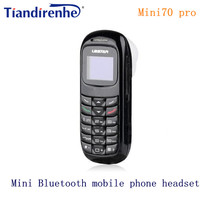 New GTSTAR Mini70 Pro Wireless Mini Bluetooth Earphone Dialer Stereo Headphone Pocket Phone Support SIM Card