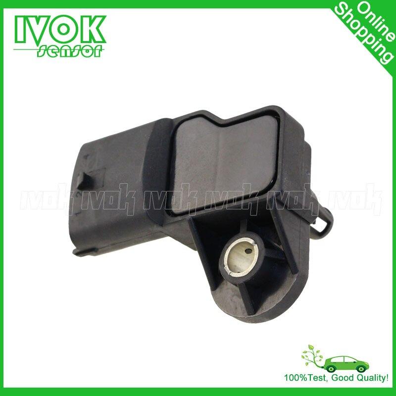 2.5BAR Manifold MAP Sensor Intake Air Boost Pressure Drucksensor Sender For PEUGEOT BOXER Box 2.8 HDi Diesel 0 281 002 514