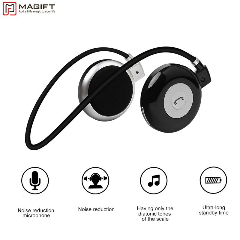 Magift3 Fashion Sports Running Bluetooth Stereo Headphone Neckband Wireless Headset with MIC For iPhone LG Android Samsung hbs 800 bluetooth headphone wireless stereo sports headset neckband earphone with mic for iphone samsung lg