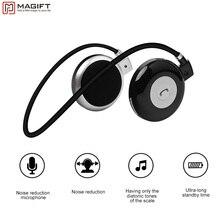 Magift3 Moda Deportes Running Banda Para El Cuello Auriculares Inalámbricos Bluetooth Estéreo Para Auriculares con el MIC Para el iphone LG Android Samsung