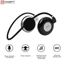Buy online Magift3 Fashion Sports Running Bluetooth Stereo Headphone Neckband Wireless Headset with MIC For iPhone LG Android Samsung