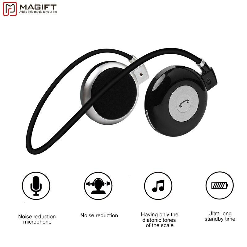 bilder für Magift3 Mode Sport Lauf Bluetooth Stereo Headpone Nackenbügel Drahtlose Headset mit MIKROFON Für iPhone LG Android Samsung
