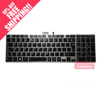 New Replacement FOR TOSHIBA Satellite P850 P855 UK English version keyboard backlight