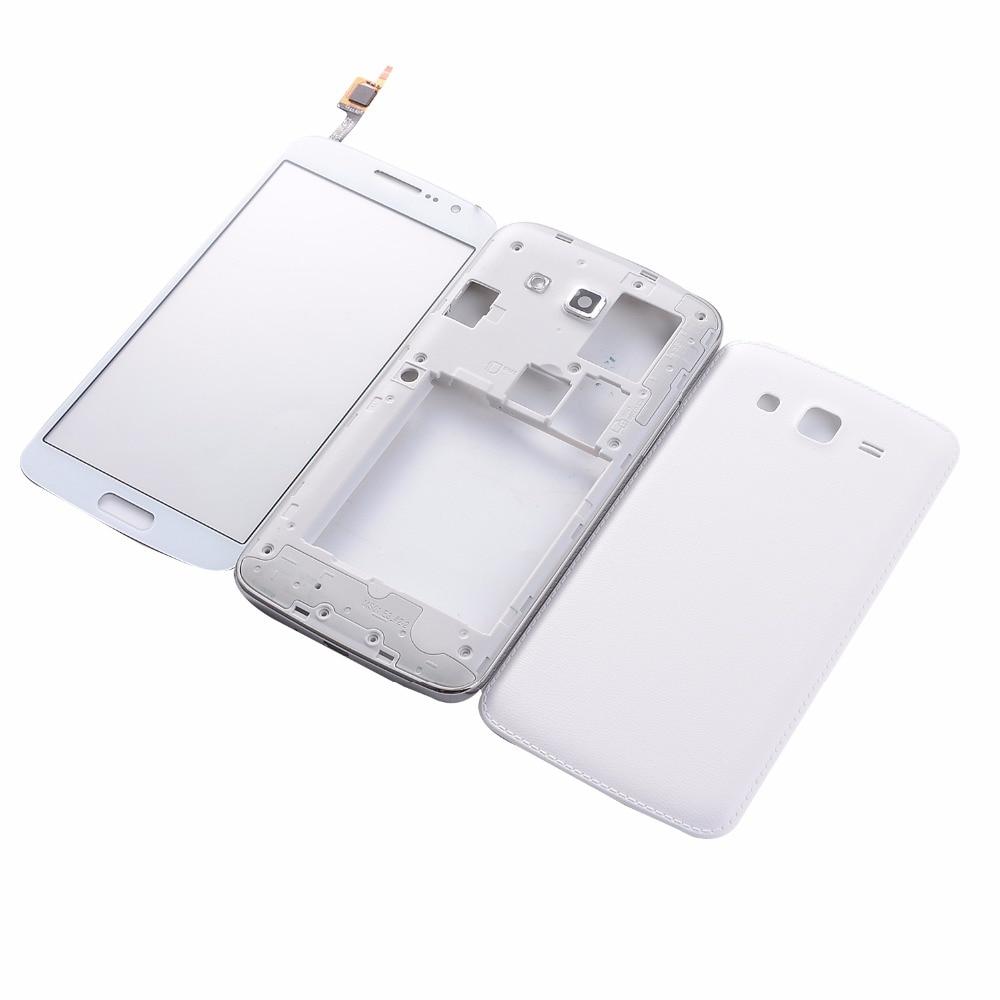 Para Samsung Galaxy Grand 2 II Duos G7102 G7106 marco completo de vivienda batería contraportada + pantalla táctil digitalizador vidrio