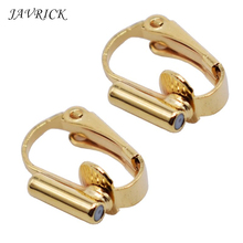 цена на 1 Pair DIY Clip-on Earring Converters Jewelry Findings for None Pierced Ears