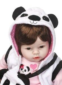 Image 3 - Npk 새로운 50cm 실리콘 reborn 슈퍼 베이비 lifelike 유아 베이비 bonecas 아이 인형 bebes reborn brinquedos reborn toys for kids 선물