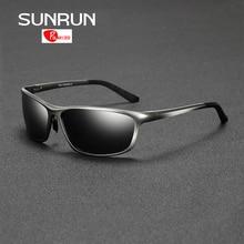 SUNRUN Polarized Sunglasses Men Driving Goggle Aluminum Eyewears Sun Glasses for Man lentes de sol hombre 2179