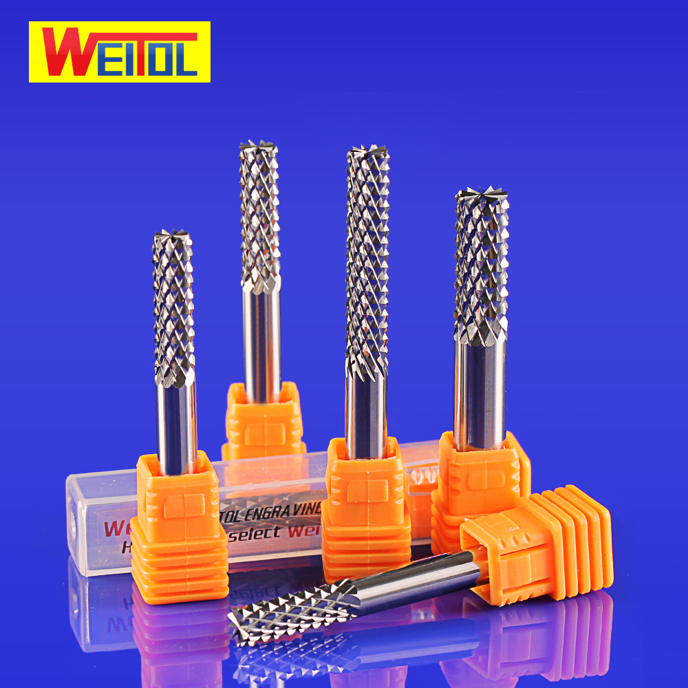 Weitol 1pcs 5A free shipping flat bottom corn teeth end mill router bit PCB milling cutter cnc carving tools for Circuit board 1pc 8 35mm good qualtiy tungsten steel carbide end mill engraving corn teeth bits cnc pcb rotary burrs milling cutter drill bit