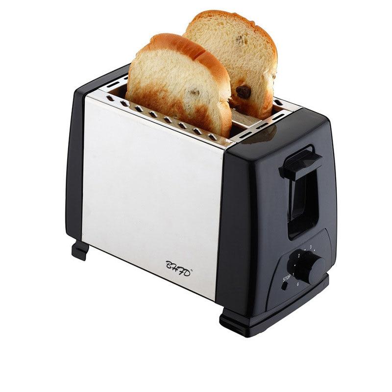 220V High Efficient Bread Baking Machine Household Toaster Toast Maker Breakfast Bread Maker Stainless Steel HB-160