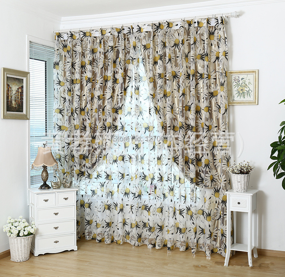 Pleated fabric doors pilotproject org - Hot Sell Tulle Fabric Window Curtain Ideas For Home Kitchen Curtain Hanging Pleated Sheer Drapes