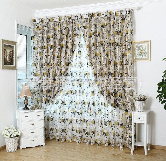 Vendita calda tulle tessuto tenda della finestra idee per la casa ...