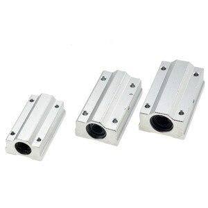 Image 5 - 2 cái/lốc SC20LUU SCS20LUU dài 20mm loại Tuyến Tính Bi Khối CNC Router với LM20LUU Bush Gối Chặn Tuyến Tính trục CNC 3D