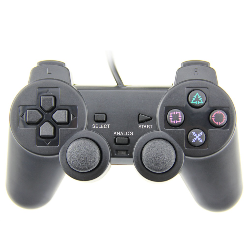TPFOON USB Wired PC Controller Double Vibration Gamepad Joystick Joypad For PC Computer Laptop