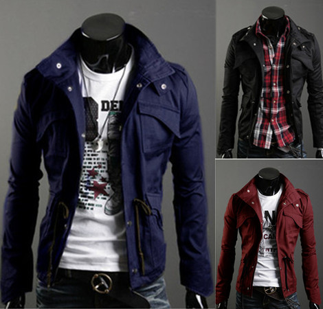 Compare Prices on Men Coats Black- Online Shopping/Buy Low Price ...