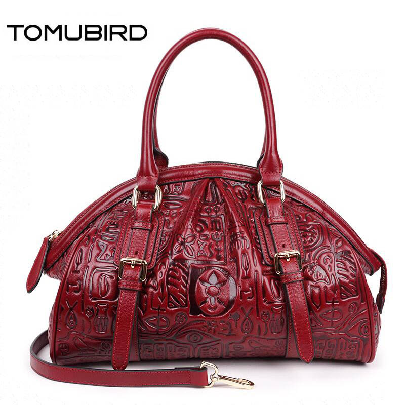 2019 New Superior cowhide Embossed luxury real leather women bags designer women bag genuine leather handbags shoulder bag