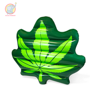 180CM inflatable tree leaf pool float games Swimming Ring swim circle Air Mattress water toys for child adult kids beach party