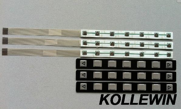 A86L-0001-0298 7 Key Membrane Keypad for FANUC,7 key OI button sheet new freeship 1 year warranty 1pcs new a98l 0001 0481 m a98l 0001 0481 t a98l 0001 0524 a a98l 0005 0019 a membrane keypad
