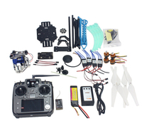 Full Kit RC Drone Quadrocopter 4 axis Aircraft Kit 500mm Multi Rotor Air Frame 6M GPS APM Flight Control 2axis Gimbal F08151 J