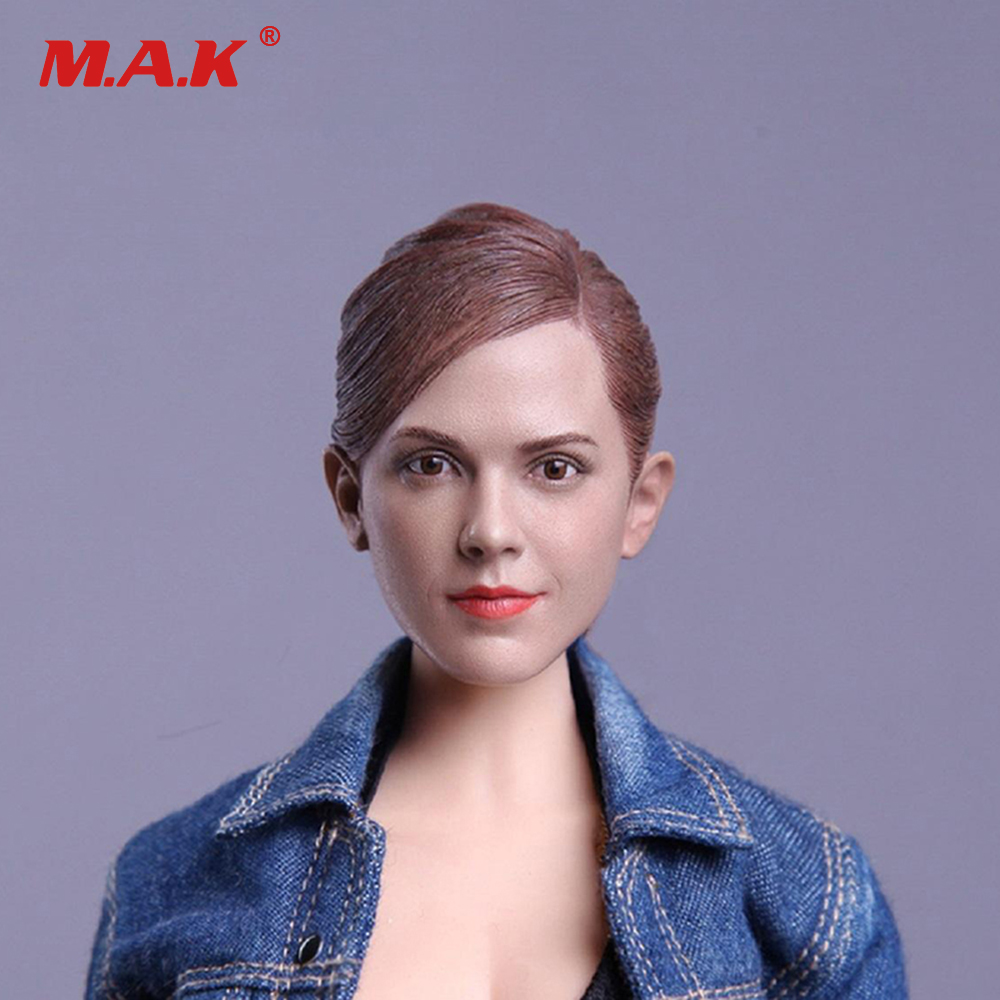 1/6 Scale Beauty Headplay Female Head Sculpt Emma Watson Harry Potter Hermione Head Carving Model for Action Figure Body сигнализация для мотоциклов yamaha