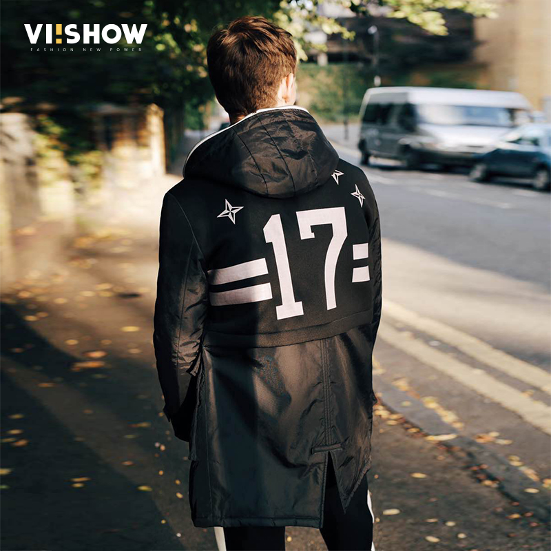 VIISHOW Winter Men Jacket 2017 Brand Casual Mens Jackets And Coats Parka Men Outwear Dark Green Jacket Male Clothing MC1674174 куртка turbokolor ewald plus jacket fw13 dark green l