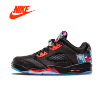 Original New Arrival Official Nike Air Jordan 5 Retro Low CNY Chinese Kite Men's Basketball Shoes Outdoor Sport Shoes 840475 060