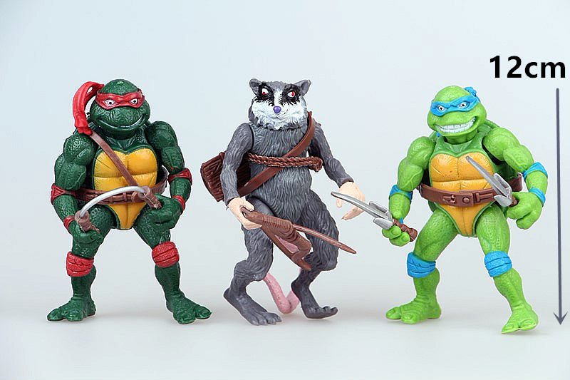 Teenage Mutant Ninja Turtles Shredder Toy : Ninjago figure boy room decor turtles michelangelo shredder splinter