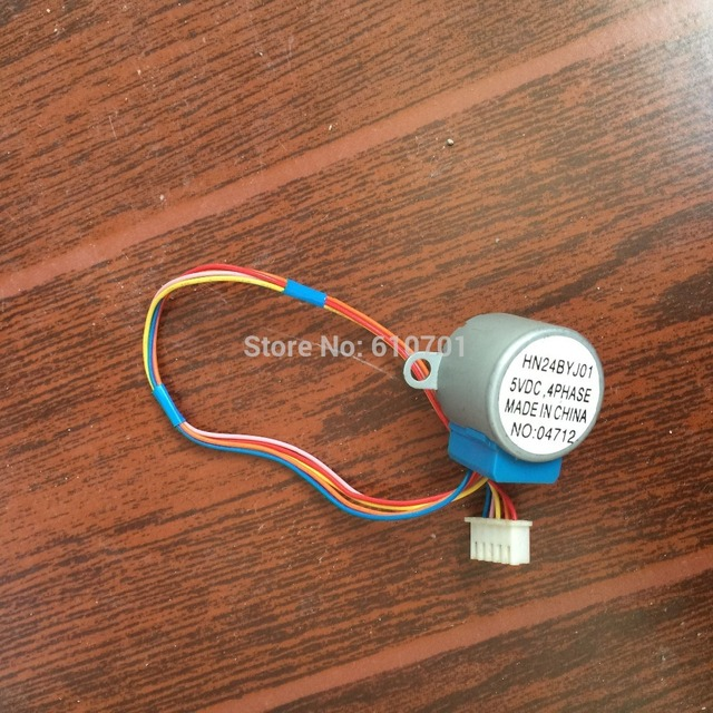 Air Conditioning Sweep Motor Swing Motor MP24GA5 24BYJ48 5VDC 12VDC Gear Stepping Motor 4 Phase 5 Wire