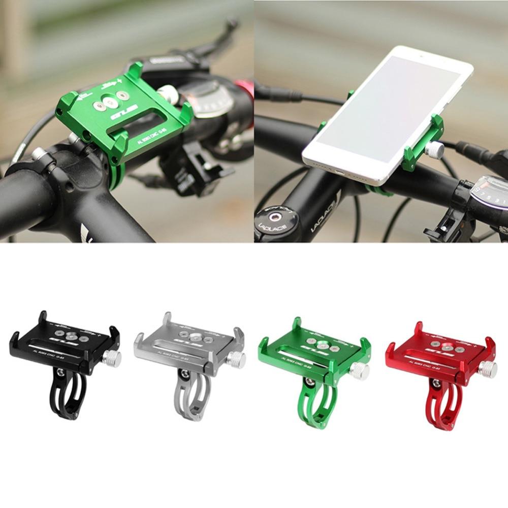 Metal Bike Bicycle Holder Racks Motorcycle Handle Phone Mount Stand For Cellphone GPS XJ S22_28