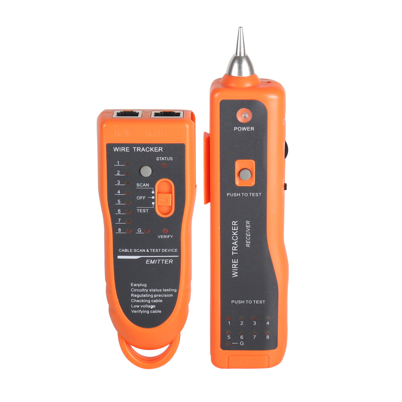 Image 3 - Cable Tester RJ11 RJ45 Cat5 Cat6 Telephone Wire Tracker Tracer Toner Ethernet LAN Network Cable Tester Detector Line Finder-in Fiber Optic Equipments from Cellphones & Telecommunications