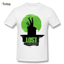 Funny Male Lost Roronoa Zoro T Shirt Fashion Anime One Piece Custom Cotton T-Shirt