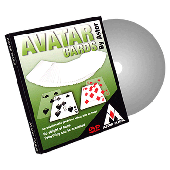 Avatar Cards (Gimmicks and Online Instructions) by Astor Card Magic Tricks Mentalism Close up Magia professional magic tricks image
