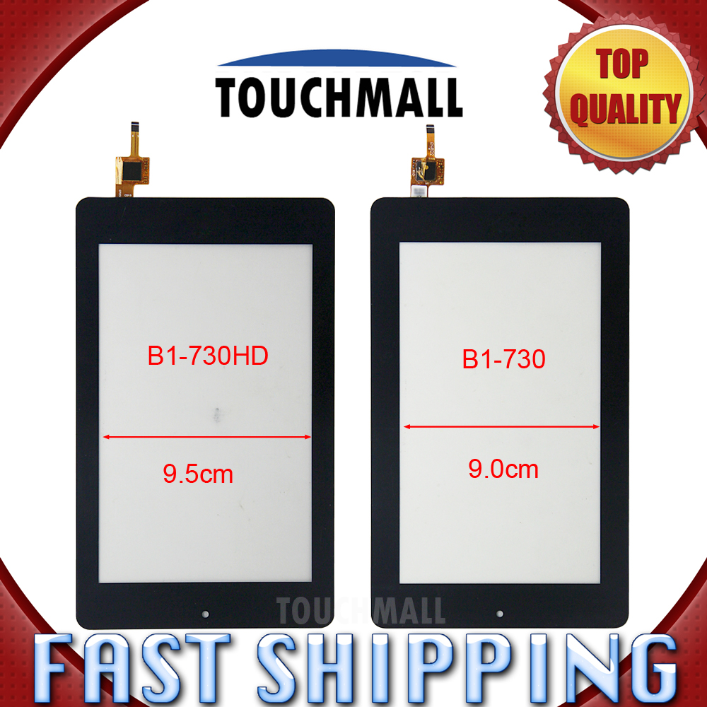 For New Touch Screen Digitizer Glass Replacement Acer Iconia One 7 B1-730 B1-730HD 7-inch Black Free Shipping for new touch screen digitizer glass replacement acer iconia tab b1 710 b1 710 b1 711 b1 711 7 inch black free shipping
