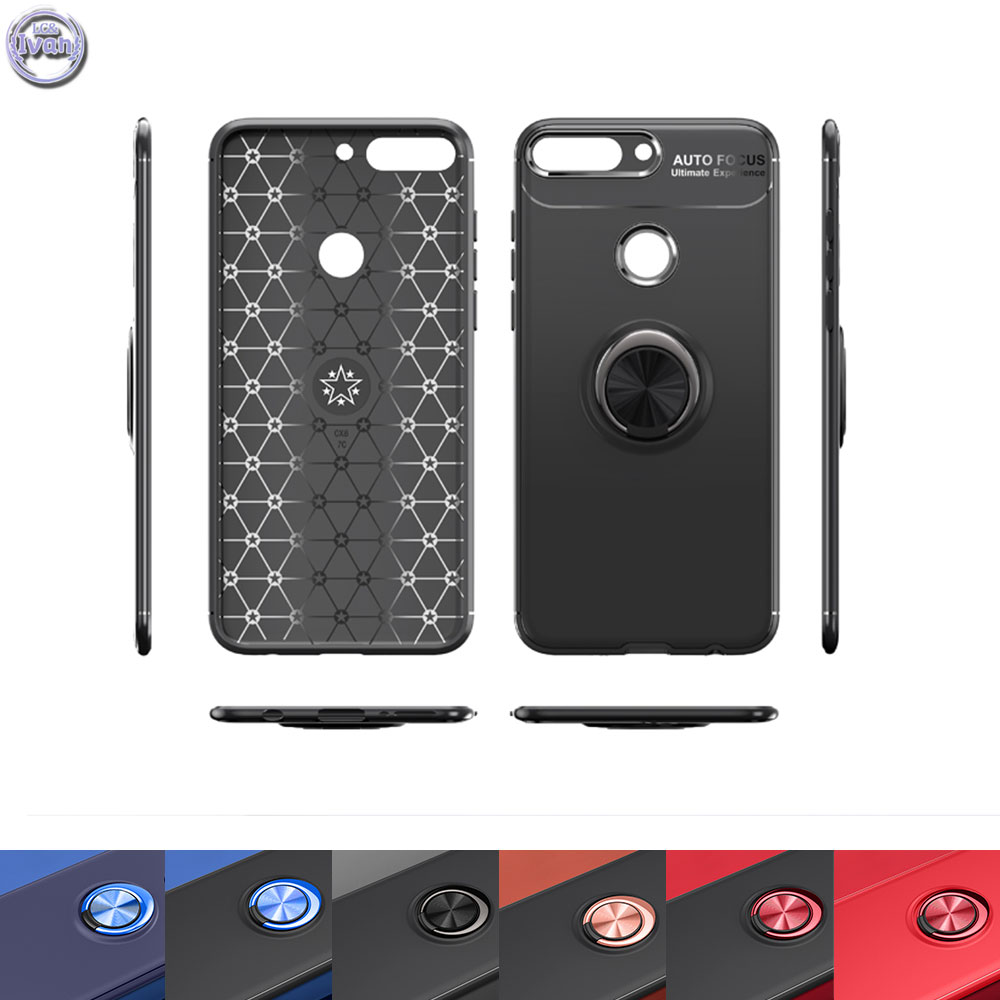 Case Suit For Huawei Y7 Prime 2018 Nova 2 Lite LDN-L22 Mobile Phone Steady Case Protect For Honor 7C Pro LDN L22 Silicon