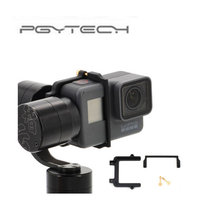 PGYTECH For GoPro Hero 5 Adapter Mount Bracket Plate Clip Holder For Zhiyun Z1 Evolution Gimbal