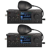 RS 918 SSB HF SDR трансивер 15 Вт Мощность мобильное радио RX: 0,5 30 МГц TX: все ветчины полосы универсальный инструмент