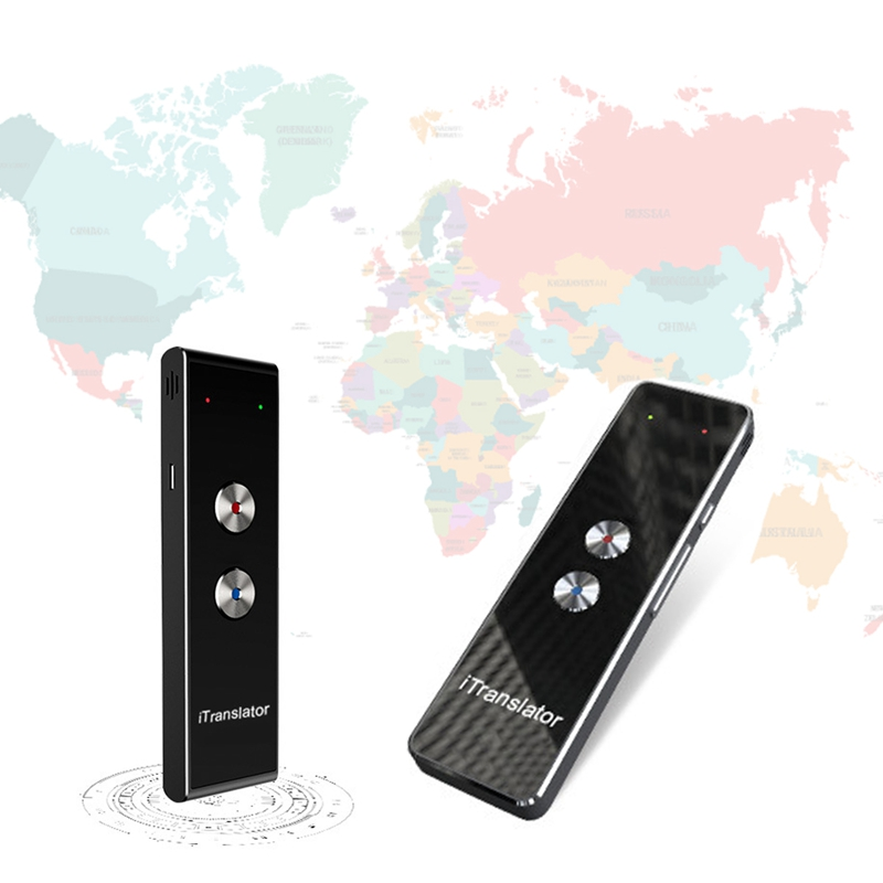 цена на Smart Translator Global 30 Multi-language Travel Business Translation Bluetooth Wireless Easy Trans Digital Voice Interpreter