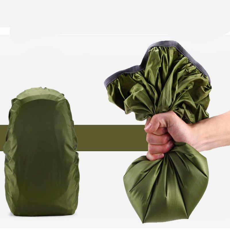 Protable Saco de Capa de Chuva mochila Mochila Anti-roubo Ao Ar Livre de Acampamento Caminhadas Ciclismo Poeira À Prova D' Água kits de Viagem Capa de Chuva
