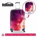 Dispalang universo espaço galaxy star impressão acessórios do trole mala de viagem protable capa elástica à prova d' água bagagem covers