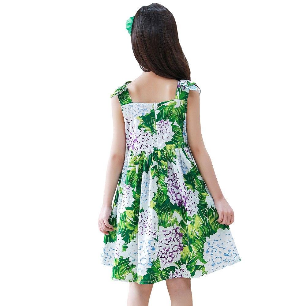 Sukienki dla dziewczynek dla dzieci Ubrania Aonuosi Czysta bawełna - Ubrania dziecięce - Zdjęcie 2