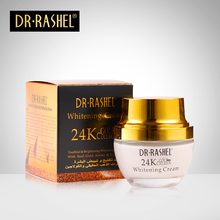 2 pcs Day Cream 24 K Gold Night Creams Face Care Whitening Cream Youthful Brightening Skin Care DRRASHEL day creams