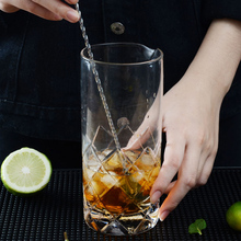 2Pcs Stainless Steel Cocktail Muddler Bar Spoon – DIY Drink Muddler Long Twisted Mixing Spoon