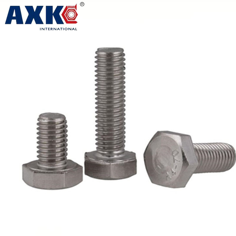 1Pc 5/8-11 5/8-11*3-1/2 3-1/2 Inch Length 304 Stainless Steel SS America US UNC Coarse Thread Screw External Hex Hexagon Bolt 1pcs 1 2 12 bsw thread 1 1 4 1 1 4 inch length 304 stainless steel bsw thread bolt unified hex hexagon screw