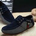 Sapato masculino Ventas Zapatos Para Hombre Tenis zapatos hombre Casual Malla zapatos inferiores rojos para los hombres zapatos de Conducción Ocasionales Mocasines