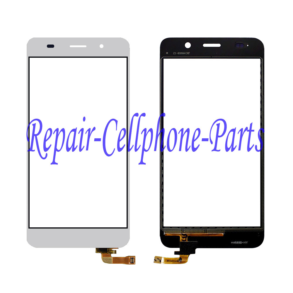 White Touch Screen Digitizer Glass Lens Replacement For Huawei Honor 4A Y6 SCL-L32 SCL-L04 SCL-L02 SCL-L03 Free Shipping